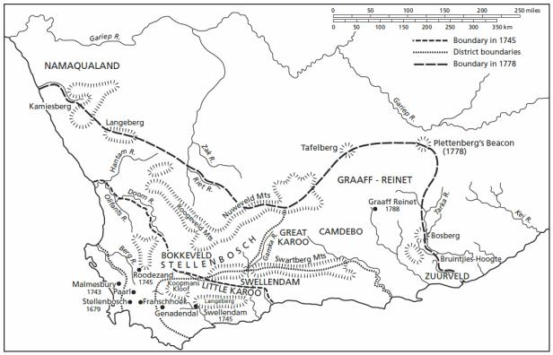 How the Cape became a colony – boammaaruri